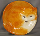 BETTER HOMES  GARDENS Heritage Collection 2014 Earthenware 3 D FOX Plate EUC