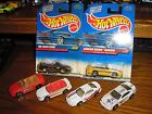RARE Vintage Lot of 6 Hot Wheels 1990s Ford Mustang GT Convertibles
