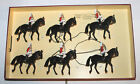 Britains No. 5184 Lifeguards 6x Piece Set Mounted Horse Back Calvary Boxed
