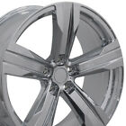 20x85 20x95 Chrome Camaro ZL1 Style Wheels 20 Set of 4 Rims Fit Chevrolet