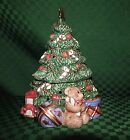 FITZ & FLOYD LIGHTED CHRISTMAS TREE FIGURINE