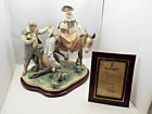 Large Lladro Don Quixote #5341 I Have Found Thee Dulcinea, w/ COA base