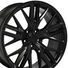 20x85 Satin Black 5th Gen Camaro ZL1 Wheels Set of 4 Rims Fit Chevrolet