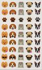 Mrs Grossmans Giant Stickers Dog Emotions Puppy Emoticons 2 Strips