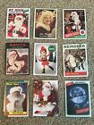 2016 Topps Now Santa Claus FULL SET OF 9 Baseball Archives Retro Cards VERY RARE
