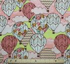 SNUGGLE FLANNEL  HOT AIR BALLOONS  100 Cotton NEW BTY