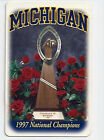 1997 Michigan college football schedule National Champions