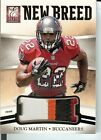 DOUG MARTIN RC 4 COLOR PATCH 2012 PANINI BLACK BOX ELITE NEW BREED #10 1 1