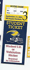 2003 Michigan vs Notre Dame original college football ticket stub