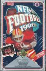 2 BOX LOT 1991 UPPER DECK FOOTBALL LOW SERIES SEALED