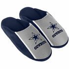 Pair Dallas Cowboys Jersey Slide Slippers Team Color House shoes JRS16 Style