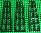 Lego BOAT Mast RIGGING Lot of 3 Black Pirate Ship Project