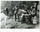 Jean Luc Godards Weekend original 8x10 photo teenagers with guns in woods