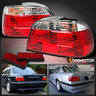 1995 2001 BMW E38 750IL 740I 7 Series Euro Red Clear Tail Lights Left+Right