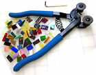 Mosaic CUTTER NIPPERS for Stained Glass Ceramic China Tiles FREE PRACTICE GLASS