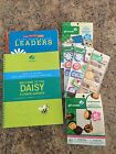 Lot Of Daisy Girl Scout Leader Book And Scrapbook Stickers
