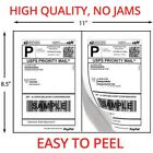 1000 SHIPPING LABELS ROUNDED CORNERS 2 PER SHEET 85 X 11 SELF ADHESIVE