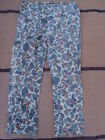 Vietnam War Duck Hunter Camo Trousers Pants,Early Private Purchase.