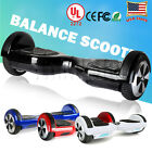 UL 2272 Certified 65 Electric Self Balancing Scooter Hoverboard Red