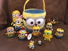 Lot of 12+ Funko Pop, Plush, Easter Basket Despicable Me Minions Collection