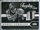 2015-16 PANINI LIMITED KAWHI LEONARD TROPHY CASE PATCH 02 25 3COL JERSEY NUMBER