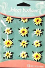 Jolees Boutique Cabochons Stickers Yellow Daisy Flowers