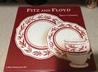 Fitz & Floyd TOWN & COUNTRY 3 piece Place Setting (Dinner, Salad, Mug)
