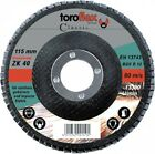 Toroflex Fan washer for angle grinders 115 x 22,2mm Korn 60 Sanding disc