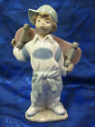 LITTLE SKATEBOARDER BOY PORCELAIN FIGURINE NAO BY LLADRO  #1361