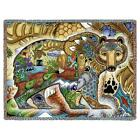 70x53 GRIZZLY BEAR Native American Southwest Tapestry Afghan Throw Blanket