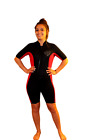 2X Shorty Wetsuit Front Zip Off Style Womens or Shorter Men 2200