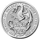 2017 Great Britain 2 oz Silver Queens Beasts The Dragon Coin SKU46054