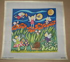 Patty Paints Moon Fairies Handpainted Needlepoint Canvas Mice Flowers Forest