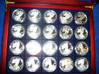 35 pc 1986 2016 American Silver Eagle Proof Date Set incl 1995 W