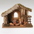 Fontanini 5 Inch Scale HOLY FAMILY AND SHEEP WITH STABLE Great Gift Idea