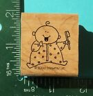 Stampin Up Baby First Tooth Brush Rubber Stamp
