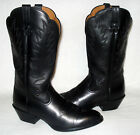 85 B Ariat Womens Heritage R Toe Cowboy Western Motorcycle Boots Black Leather