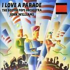 John Williams Boston Pops Orchestra I Love A Parade CD NEW Midway March