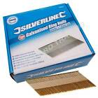 Silverline Galvanised Ring Nails 2500pk 65 x 2.9mm For Air Framing Nailer 282400