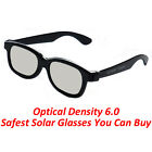 Plastic Solar Eclipse Viewing Glasses 50 PACK USA 2017 CE APPROVED DARK LENS