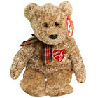 TY Beanie Baby - 2002 SIGNATURE BEAR (8.5 inch) - MWMTs Stuffed Animal Toy