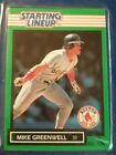 1989 Mike Greenwell Boston Red Sox  Unopened Starting Lineup Baseball Card mint