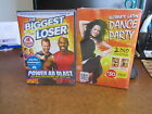 2 NEW EXERCISE DVDS THE BIGGEST LOSER POWER AB LATIN DANCE FREE SHIPPING