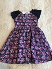 Pumpkin Patch Girls Dress Size 7 Floral Print NWT