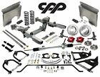 66 67 CHEVY NOVA IFS MUSTANG 2 INDEPENDENT FRONTEND MANUAL RACK RED CALIPERS