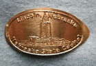 Lincoln elongated penny NE USA cent Nebraska State Capitol souvenir coin