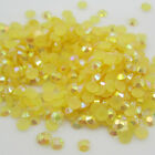 NEW 800pcs 3mm Yellow Jelly drill beads flat back Scrapbooking for crafts C1