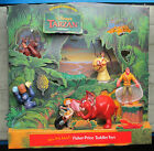 RARE 1999 McDonalds TARZAN HAPPY MEAL TOY DISPLAY All 8 toys UNIQUE COLLECTIBLE