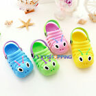 Infant Boys Girls Slip On Summer Beach Sandals Flat Casual Clogs Shoes Slippers