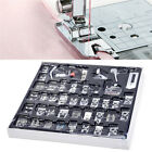 40pcs Domestic Sewing Machine Presser Feet Set DIY Household Craft Tool Kit NEW